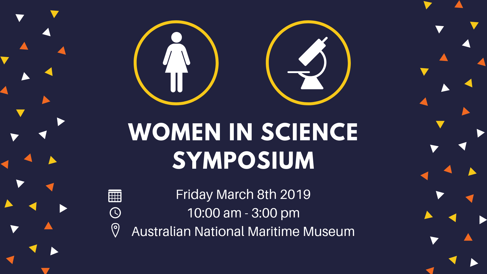 Women in Science Symposium Stall 2019