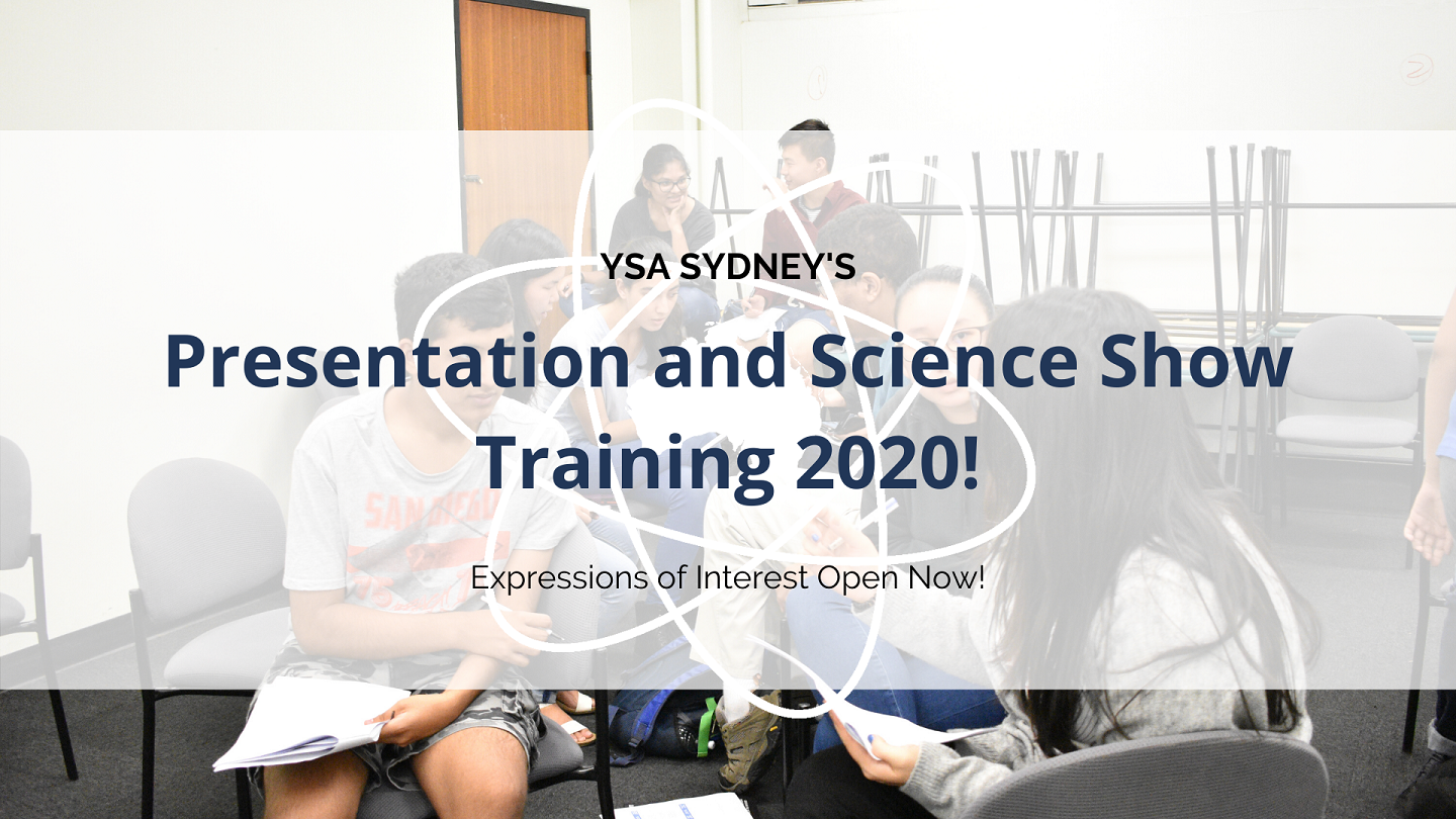 Presentation and Science Show Training 2020